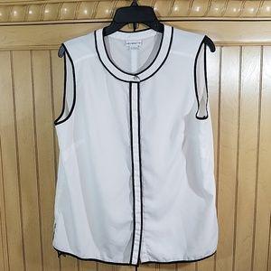 Liz Claiborne sleeveless blouse